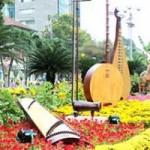 Tin tức trong ngày - Ngắm đường hoa Nguyễn Huệ trước giờ khai mạc