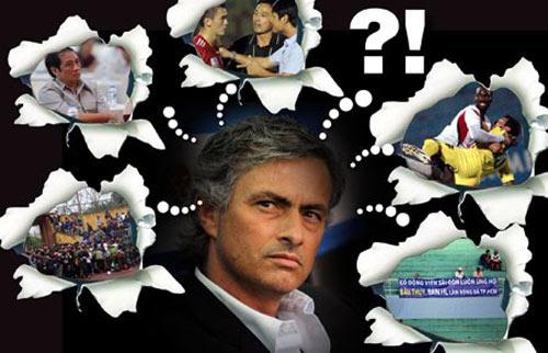 Mourinho xem bóng đá Việt Nam - 1