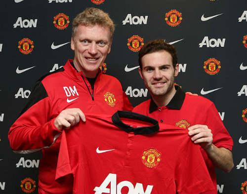 Mata được mời mặc áo số 7 ở MU - 1