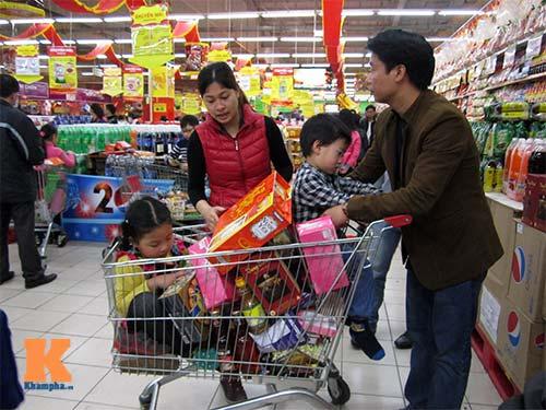 Nghẹt thở đi siêu thị cuối năm - 7