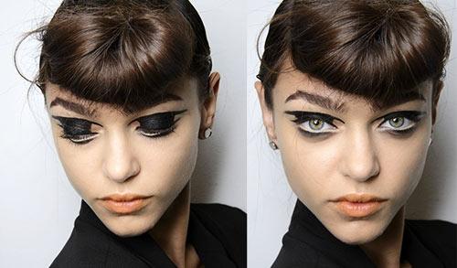 Cách vẽ mắt cho cô nàng cá tính - 3