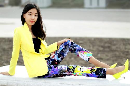 Tín đồ Kazakhstan phối màu chuẩn miễn chê - 8