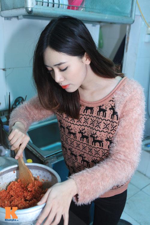 Theo chân hot girl Hà Min chuẩn bị Tết - 5
