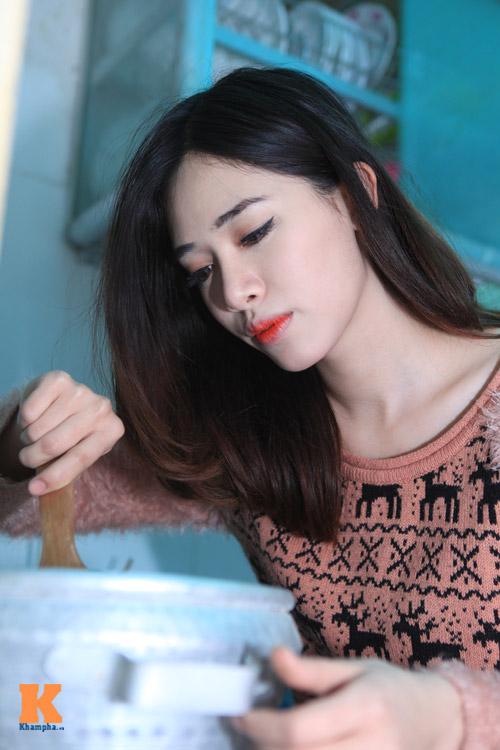 Theo chân hot girl Hà Min chuẩn bị Tết - 6