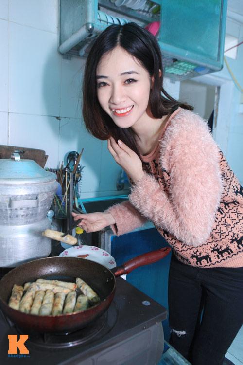 Theo chân hot girl Hà Min chuẩn bị Tết - 7