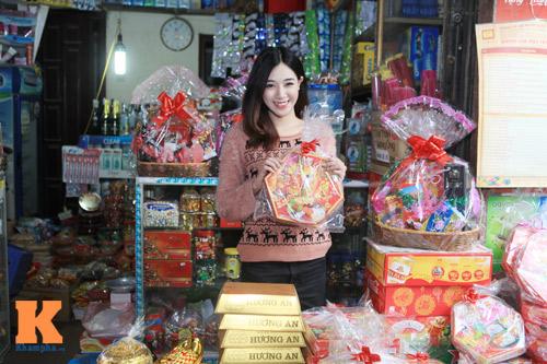 Theo chân hot girl Hà Min chuẩn bị Tết - 1