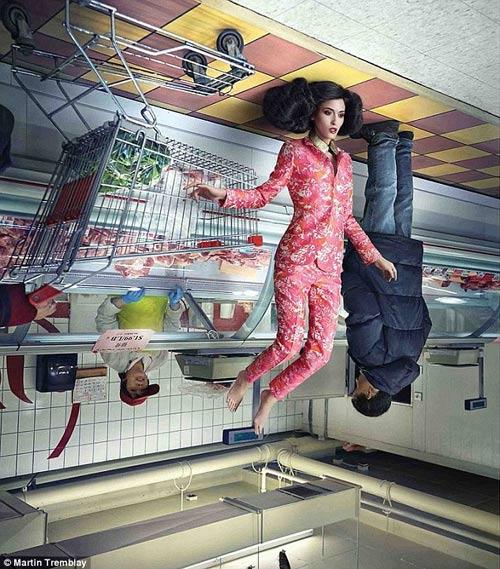 """""""Thế giới đảo ngược"""" kỳ thú của thời trang - 3"""