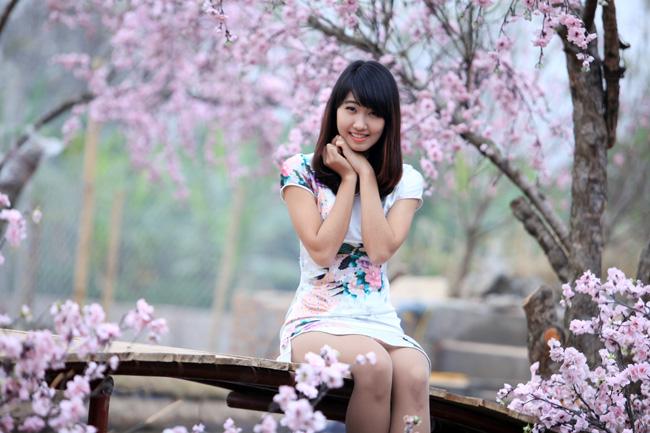 Cô gái xinh đẹp này từng đoạt danh hiệu Hoa khôi Đại học Ngoại thương Hà Nội 2013