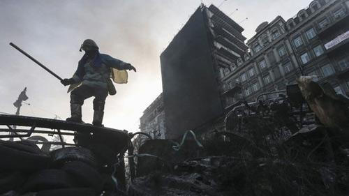 Ukraine: Bộ Tư pháp bị người biểu tình chiếm giữ - 2