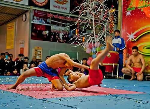 Dân võ thuật thủ đô thi đấu đón Tết - 2