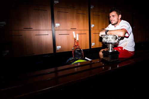 Wawrinka giản dị ăn mừng danh hiệu Australian Open 2014 - 7