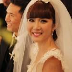 Ngọc Quyên hạnh phúc với tiệc cưới ấm cúng