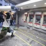 Tin tức trong ngày - Brazil: Người biểu tình đốt xe, phá ngân hàng
