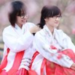 Bạn trẻ - Cuộc sống - Thiếu nữ diện Hanbok dịu dàng du xuân