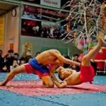 Thể thao - Dân võ thuật thủ đô thi đấu đón Tết