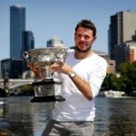 Thể thao - Wawrinka giản dị ăn mừng danh hiệu Australian Open 2014