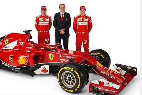 F1: Ferrari trình làng phiên bản 2014 - 4