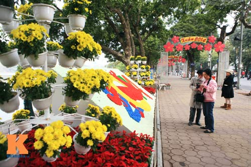 Hà Nội trang hoàng đón Tết Nguyên đán 2014 - 11