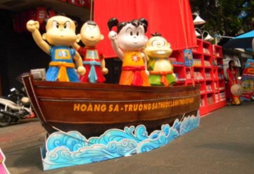 Lễ hội đường sách Tết Giáp Ngọ tại TP.HCM - 2
