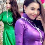 Ngôi sao điện ảnh - Trà Ngọc Hằng 3 vòng hấp dẫn dù mặc áo dài
