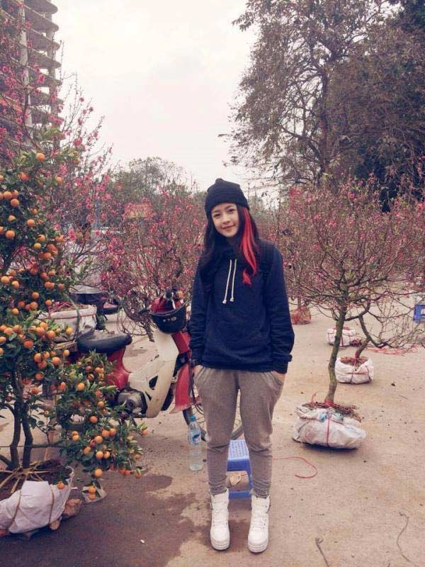 Hot girl Nam - Bắc chuẩn bị đón Tết - 9