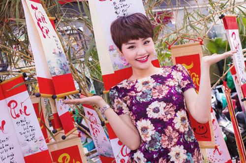 Miu Lê rạng rỡ khoe MV Xuân - 2