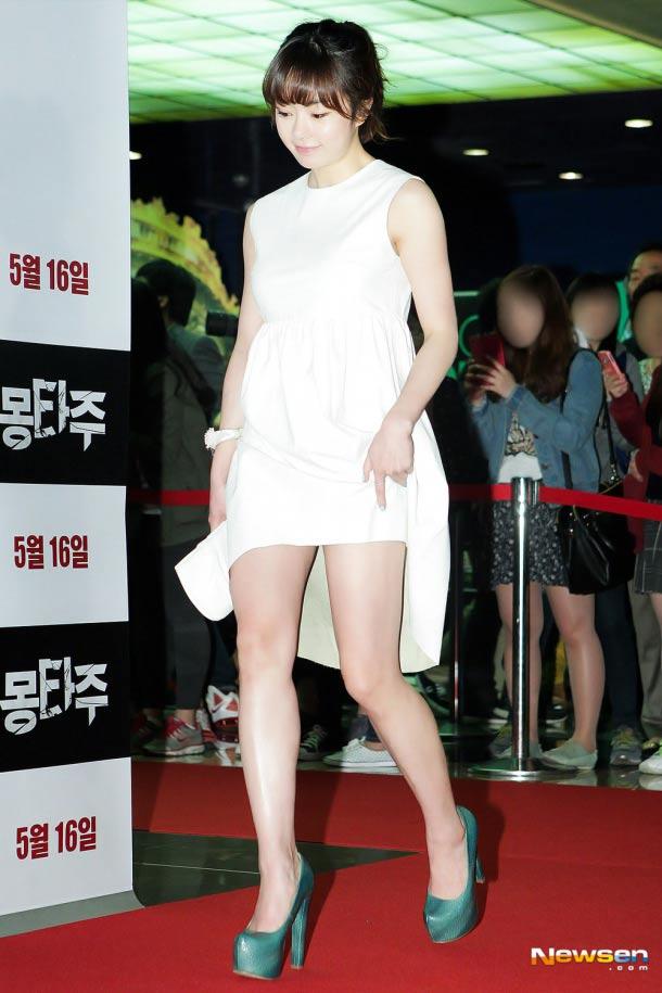 Những đôi chân trắng muốt của sao Hàn - 5