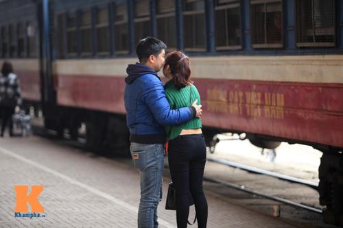 Xúc động chia tay chiều cuối năm ở ga Hà Nội - 11