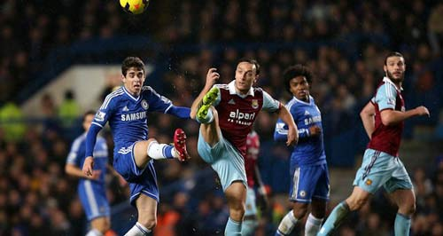 Chelsea - West Ham: Công phá dữ dội - 1