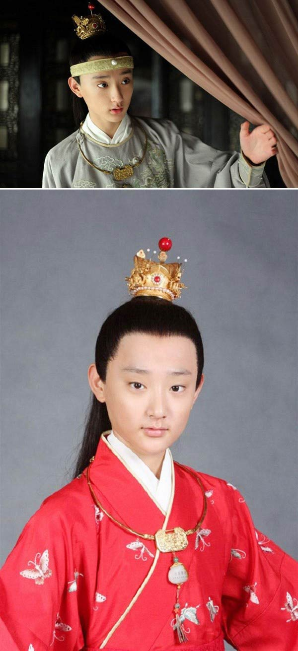Kim Tan Trung Quốc là hot boy trường múa - 1