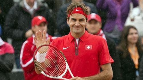 Federer bất ngờ dự Davis Cup - 1
