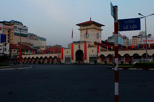 Một Sài Gòn vắng lặng sáng đầu năm - 1