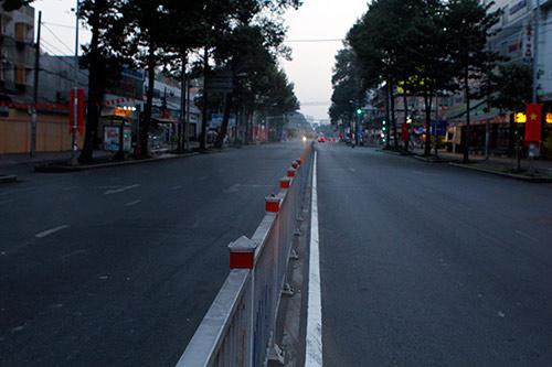 Một Sài Gòn vắng lặng sáng đầu năm - 13