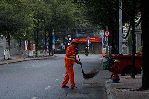 Một Sài Gòn vắng lặng sáng đầu năm - 7