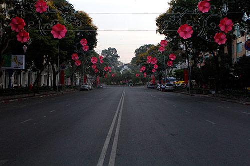 Một Sài Gòn vắng lặng sáng đầu năm - 8