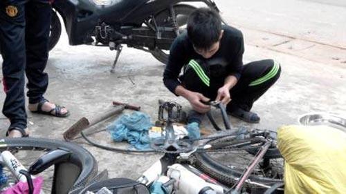Người một mình đạp xe xuyên Việt - 10