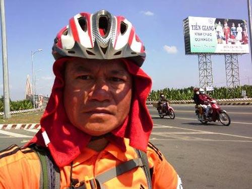 Người một mình đạp xe xuyên Việt - 14