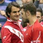 Thể thao - Thụy Sỹ toàn thắng (V1 Davis Cup ngày 2)