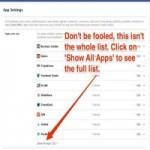 Thời trang Hi-tech - Vô hiệu ứng dụng theo dõi trên Facebook