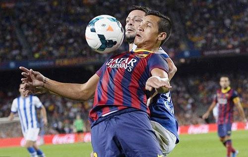 Barca - Sociedad: Phòng ngự kiên cường - 1