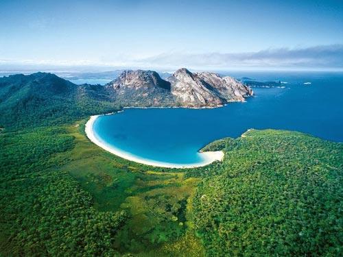 Tới Úc thăm vịnh tuyệt đẹp hình ly rượu - 1