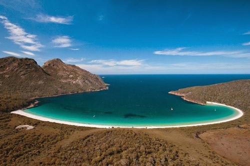 Tới Úc thăm vịnh tuyệt đẹp hình ly rượu - 2