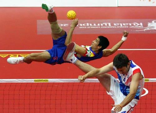 10 môn thể thao kỳ lạ nhất thế giới - 10