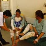 Tin tức trong ngày - Nổ bình gas, hai chị em bị bỏng nặng