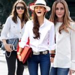 Thời trang - Sơ mi trắng thánh thiện trong nắng Xuân