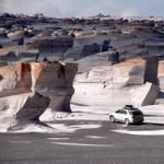 Du lịch - Cánh đồng đá bọt tuyệt đẹp ở Argentina