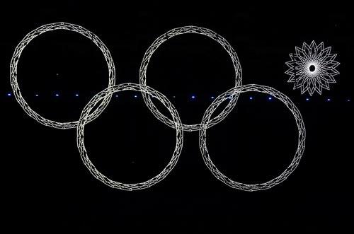 """""""Sự cố"""" tại lễ khai mạc Olympic Sochi 2014 - 1"""