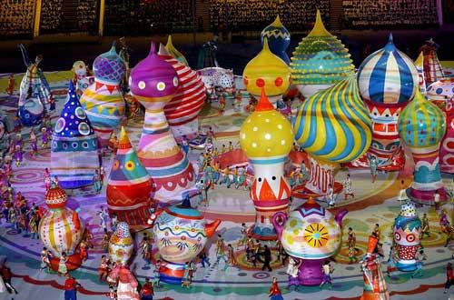 """""""Sự cố"""" tại lễ khai mạc Olympic Sochi 2014 - 5"""