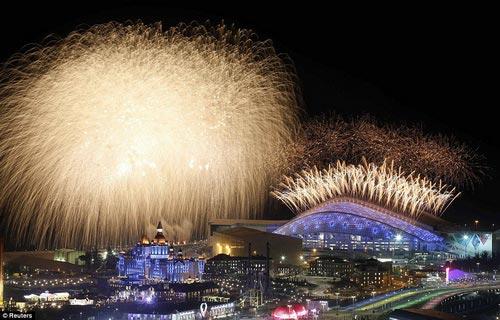 """""""Sự cố"""" tại lễ khai mạc Olympic Sochi 2014 - 6"""