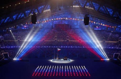 """""""Sự cố"""" tại lễ khai mạc Olympic Sochi 2014 - 2"""